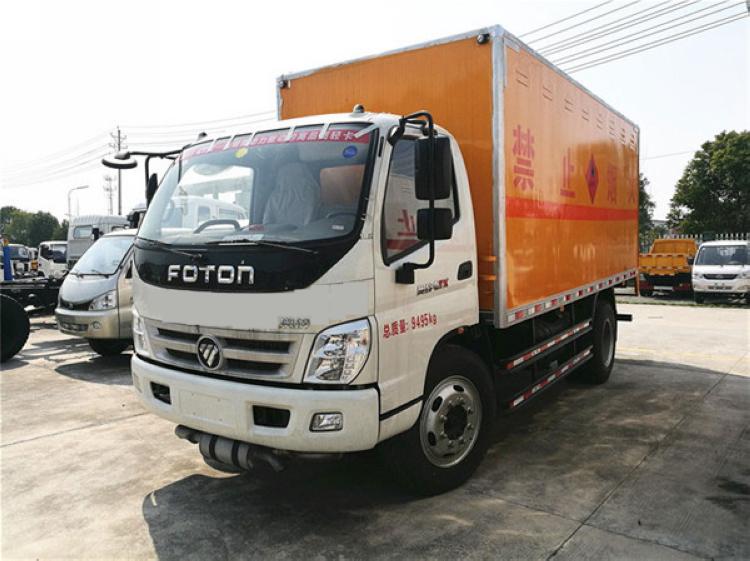 福田奥铃5.1米易燃液体运输车厂家电话15997903366
