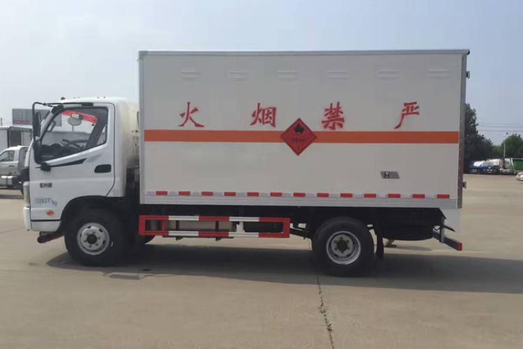 福田欧马可4.2米易燃气体运输车厂家电话15997903366